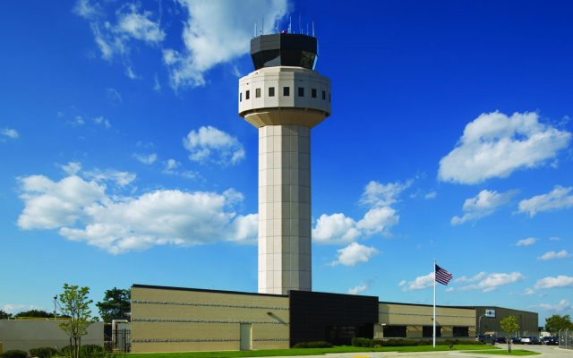 MacArthur Airport, New Airport Traffic Control Tower & Base