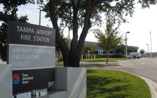 Tampa International Airport, Airport Rescue and Firefighting Facility