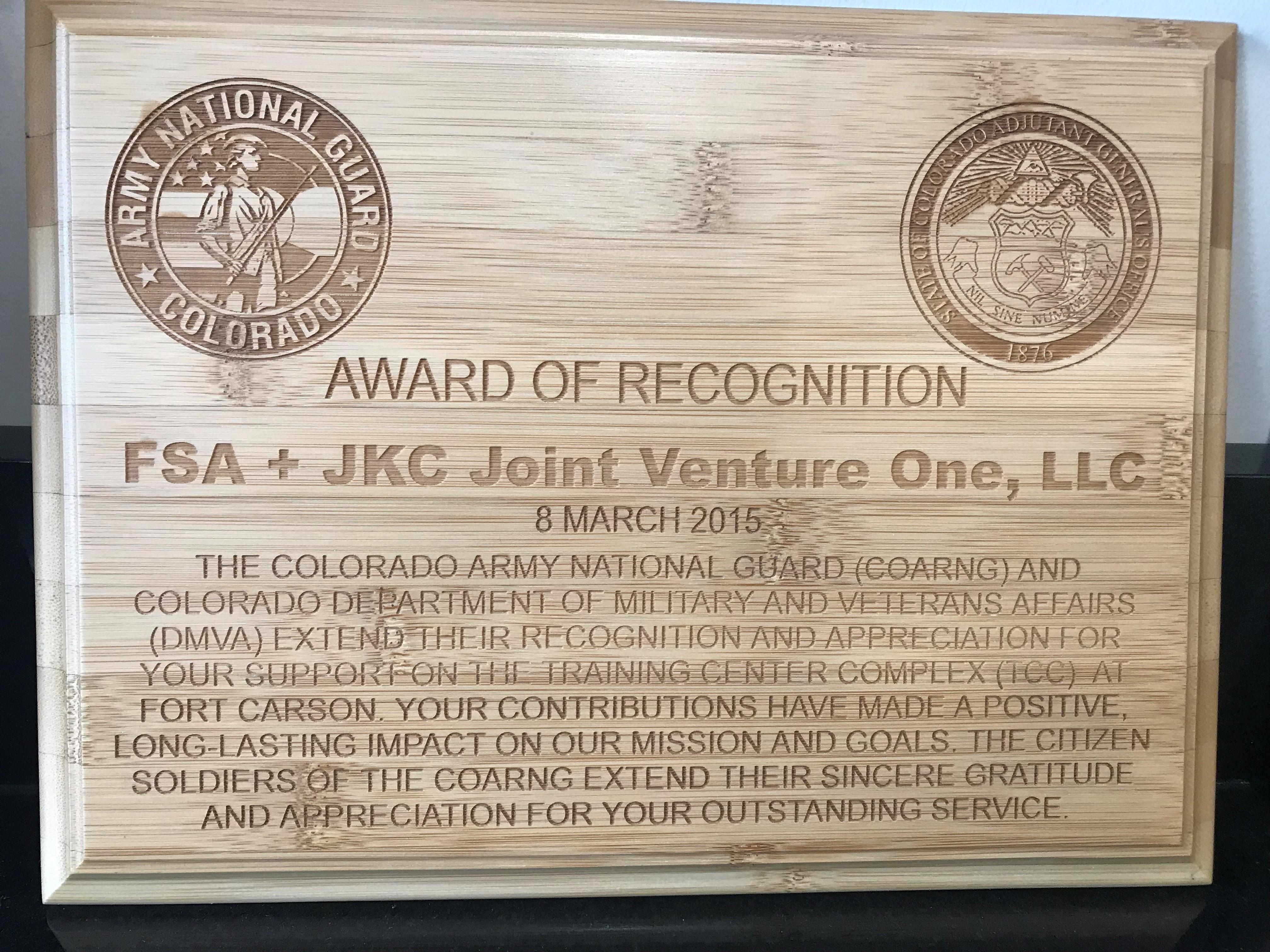 awards recognition kokolakis commercial construction